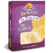 cereal pane azimo integrale senza lievito gr.180