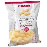 sigma cornetti di mais gusto formaggio gr.100