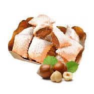 cenci ripieni al cioccolato al kg