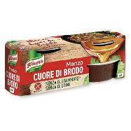 knorr cuore brodo manzo gr.28x4