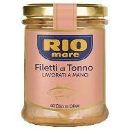 rio mare filetti di tonno olio  di oliva gr.180 lavorati a mano