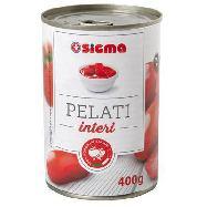 sigma pomodori pelati gr.400 100% italiano