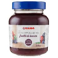 sigma confettura extra frutti bosco gr.370