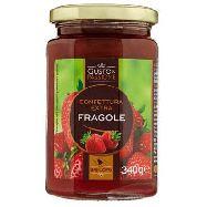 gusto & passione confettura extra di fragole  coltivate in basilicata gr.340