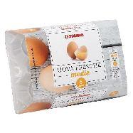sigma uova fresche  medie x 6 100% italiane