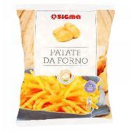 sigma patatine  da forno prefritte e surgelate gr.750