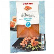 sigma salmone norvegia affumicato a fette gr.100