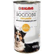 sigma bocconi  per cane con pollo gr.1230