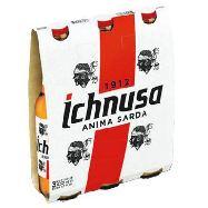 ichnusa birra bottiglia  cl.33x3
