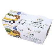 equilibrio & piacere yogurt magro latte 100% italiano ananas ml.125x2