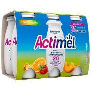 danone actimel multifrutti ml 100x6