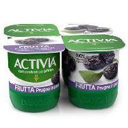 danone yogurt activia prugna gr.125 x 4