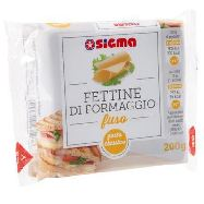 sigma fettine di formaggio fuso  x10 gr.200