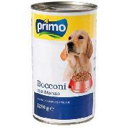 primo bocconi cane con manzo gr.1230