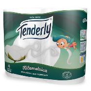 tenderly carta igienica kilometrica 4 rotoli