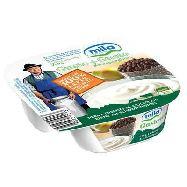 mila gusto+gusto yogurt bianco  pera crispies al cioccolato gr.150 100%latte alto adige