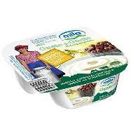 mila gusto+gusto yogurt bianco vaniglia anelli gr.150 100%latte alto adige