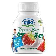 mila yogurt bere fragola ml.200 100% latte alto adige