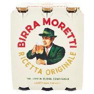moretti birra cl.33 x 6