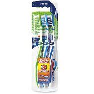 aquafresh spazzolini x 3 flex interdental medio