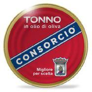 consorcio tonno in olio di oliva gr.200