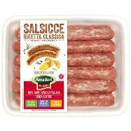 amadori salsiccia pollo e tacchino gr.430