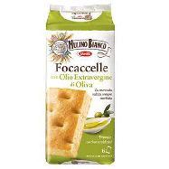 mulino bianco focaccelle olio extravergine di  oliva  gr.198