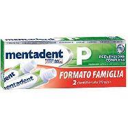 mentadent dentifricio ml.75x2