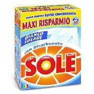 solepolvere  lavatrice con bicarbonato 50 misurini  kg.3.250