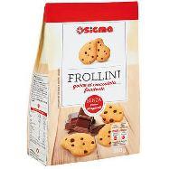 sigma frollini con gocce cioccolato senza grassi  idrogenati gr.350