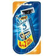 bic rasoio comfort3 pivot pz.4+2