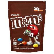 m & m chocolate gr.200