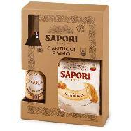 sapori cantuccini gr.250+vino liquoroso cl.37,5