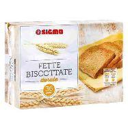 sigma fette biscottate dorate pezzi 40 gr.320