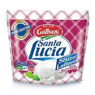 galbani santa lucia mozzarella senza lattosio gr.100
