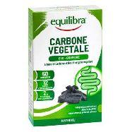 equilibra carbone vegetale n.50 compresse gr.40