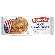 roberto maxi hamburger con semi di sesamo gr.300