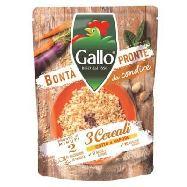 gallo bontà pronte riso 3 cereali expresso pronto in 2 minuti  gr.2s0