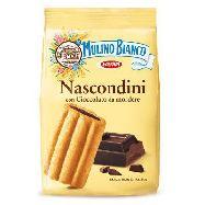 mulino bianco biscotti nascondini  con cioccolato da mordere gr.330