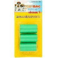 tobybag sacchi igienici per cani  in polietilene 3x20