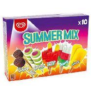 algida summer mix pz.10 gr.558