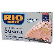 rio mare filetti salmone affumicato  cotto a vapore g.150 ricco di omega 3