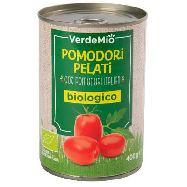 verdemio bio pomodori pelati gr.400 100% pomodori italiani