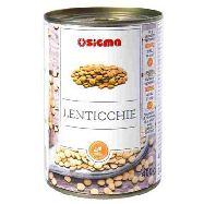 sigma lenticchie lessate barattolo gr.400