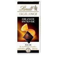 lindt tavoletta cioccolato excellence orange intense  gr.100
