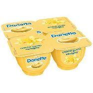danone danette dessert vaniglia g.125x4