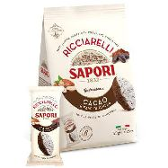 sapori ricciarelli cacao e fave di cacao gr.120
