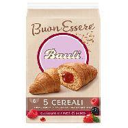 bauli croissant 5 cereali  e frutti di bosco gr.300