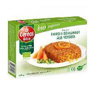 cereal bio  burger farro e boulghour alle verdure gr.200