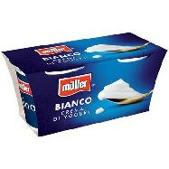 muller crema yogurt bianco ml. 125x2